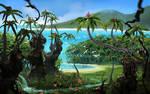 Happy joy joy island