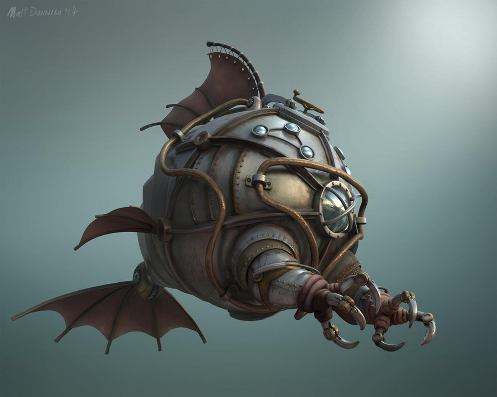 Nautilus by mattdonnici