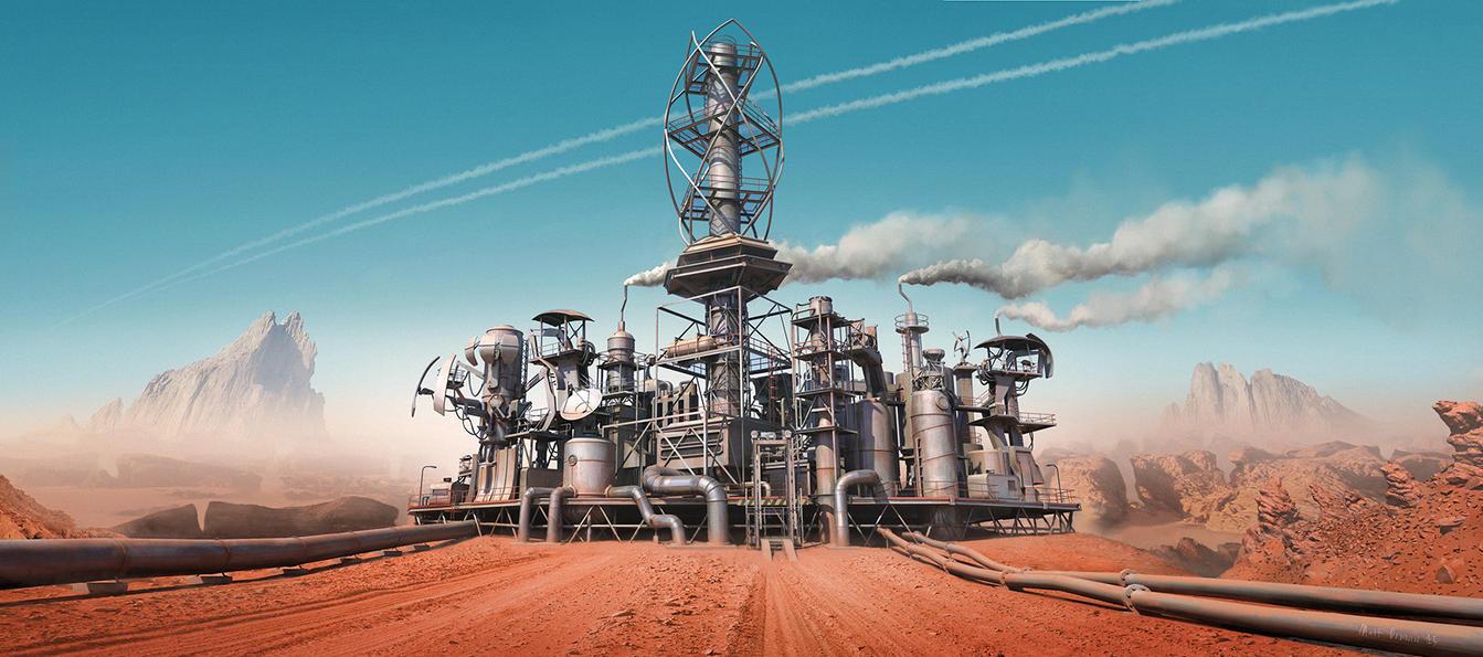 Refinery by mattdonnici