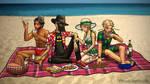 PotO Picnic at the Beach by ofbeautsandbeasts