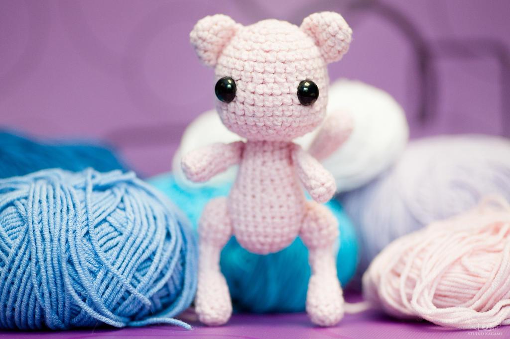 Mew Amigurumi by DarkWater9 on deviantART | Pokemon crochet ... | 682x1024