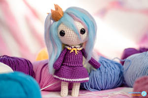 Shiro from No Game No Life - Amigurumi Doll #1