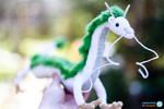 Haku from Spirited Away - Amigurumi dragon #1