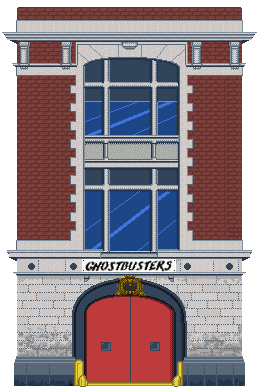 Headquarters of Ghostbusters by Tony-El