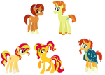 Red Crystal Pony! Shimmer Family