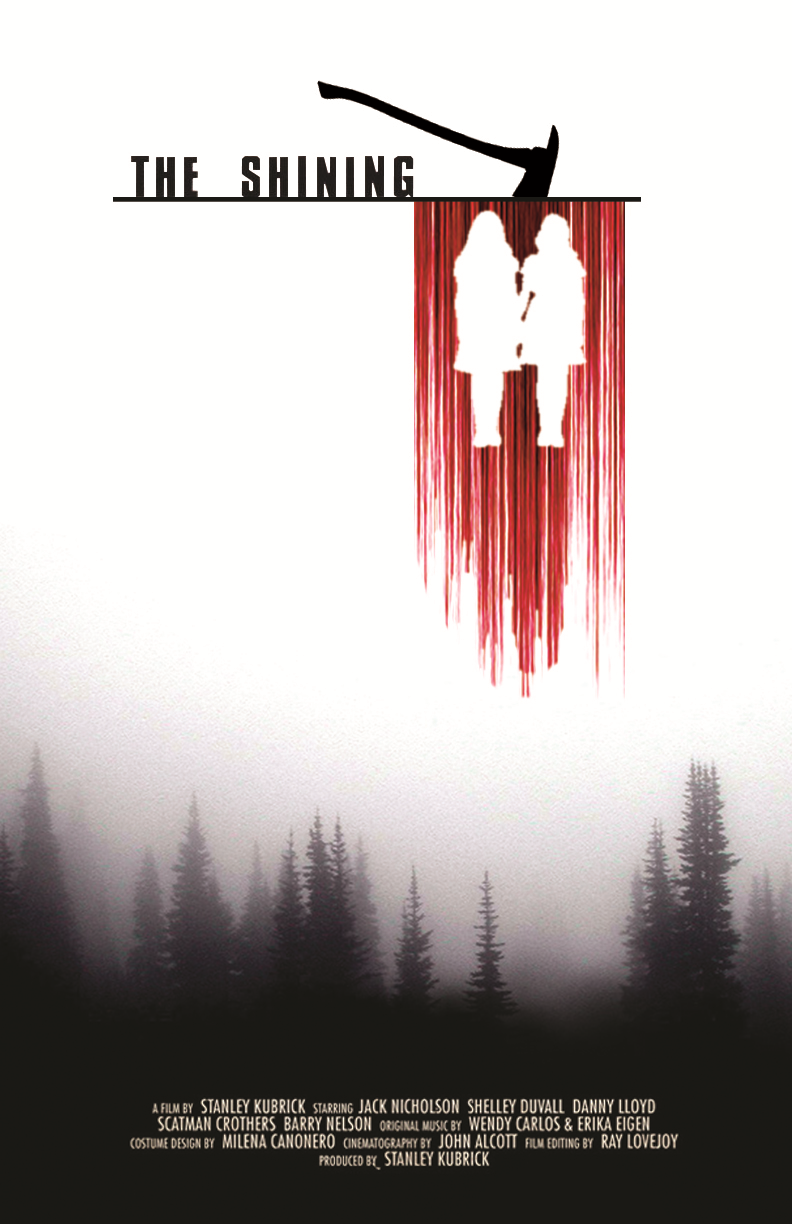 The Shining fan made movie poster by WafflyBullet on ...