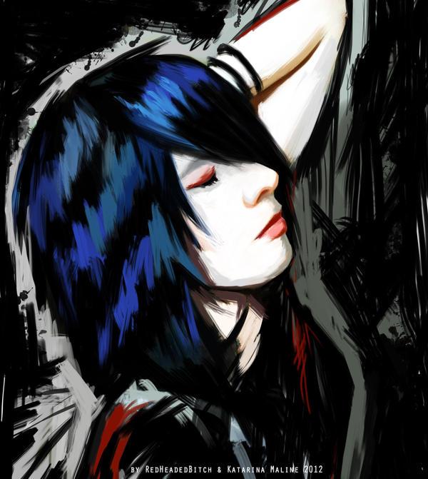 I Close My Eyes And Pass Away by KatarinaMaline