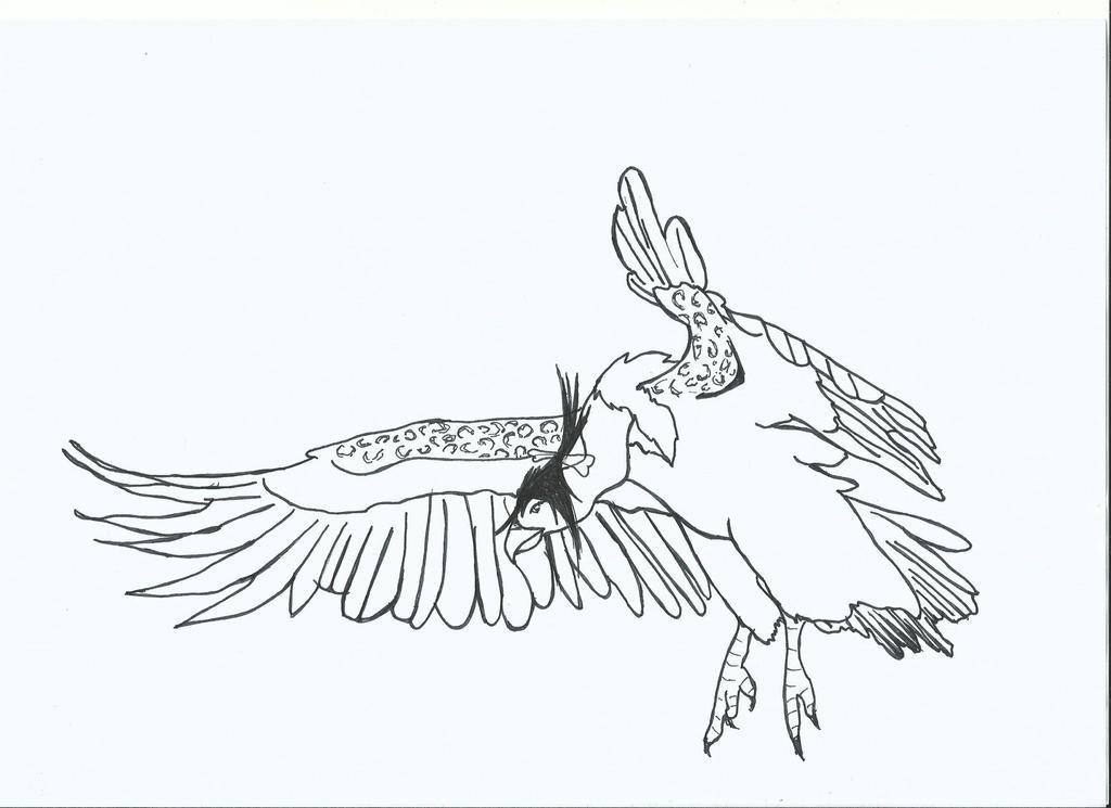 Mandibuzz Sketch by Nicki95