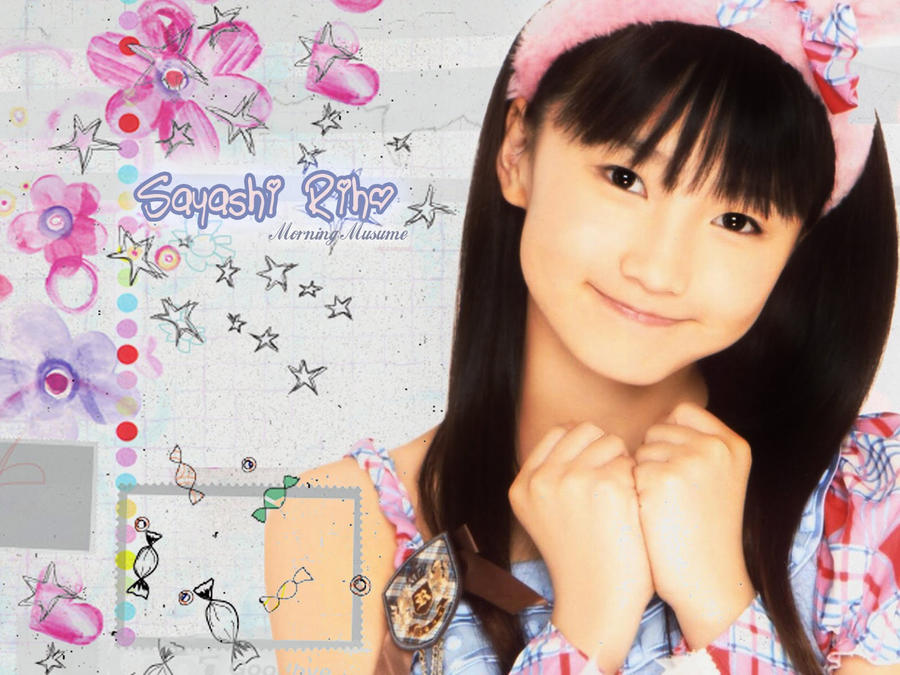 Sayashi Riho wallpaper by xiangua