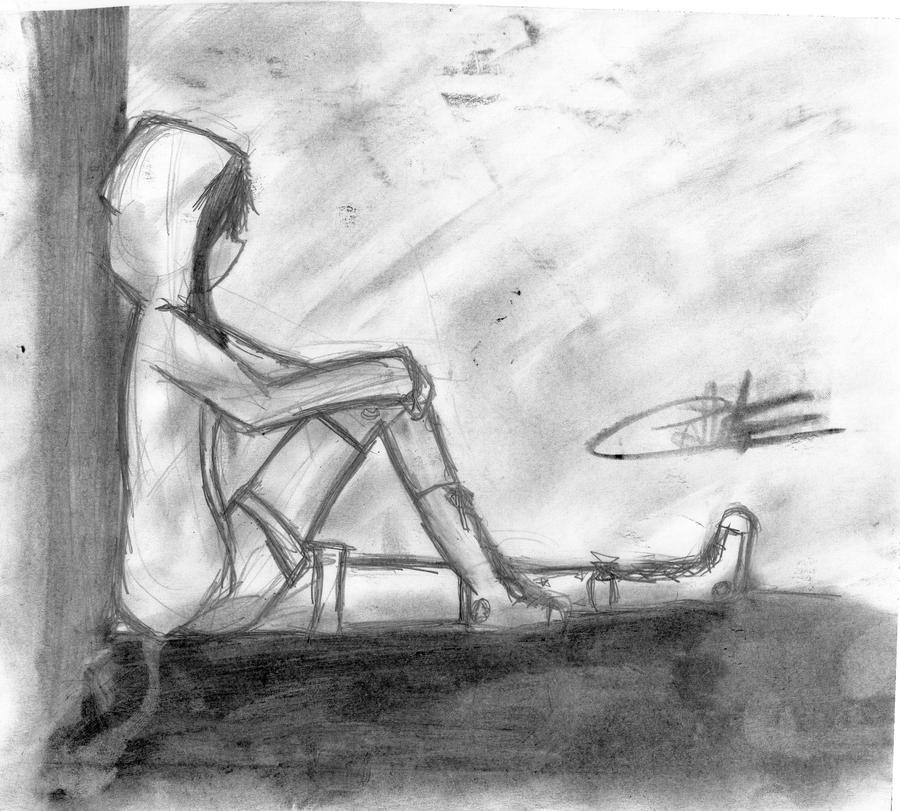 chica solitaria by kirby-kta-tsuki on DeviantArt
