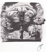 hulk smash by roidboy