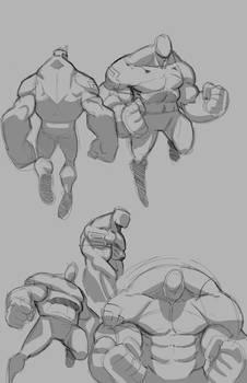 Darius Sketches