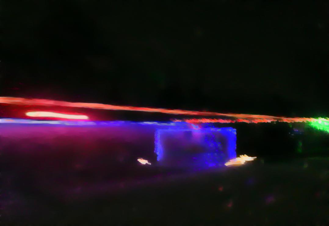 xmas lights on xmas morning - 1 by mudyfrog