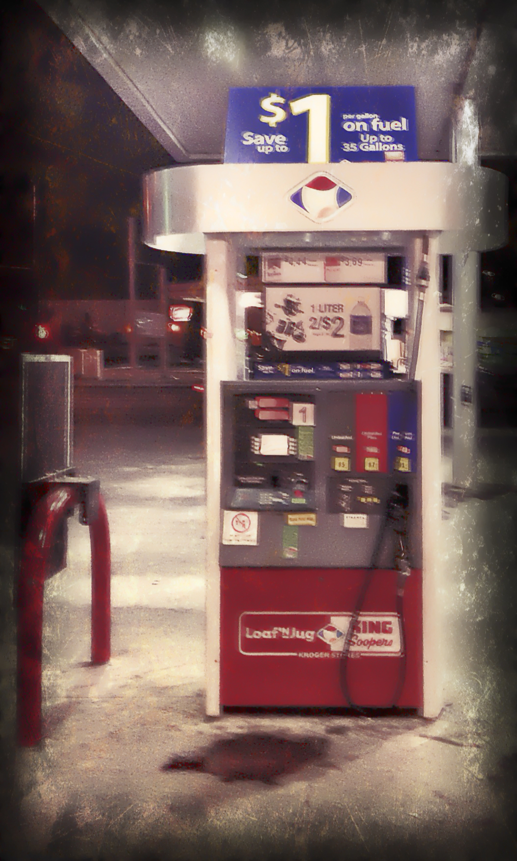 Ghost at the Pump - 1 by mudyfrog