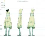 Tramp: modelsheet