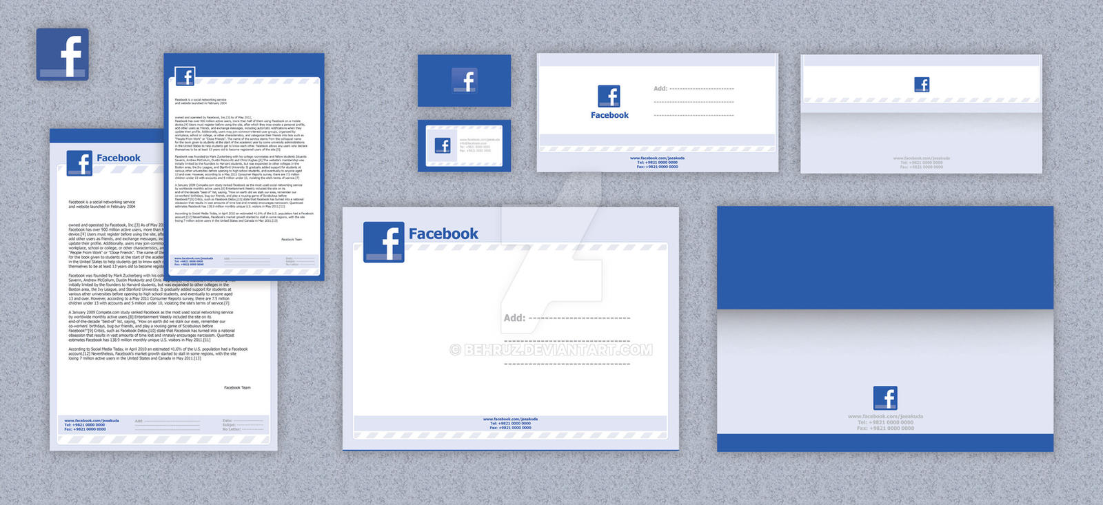 Facebook Letterhead design by behruz