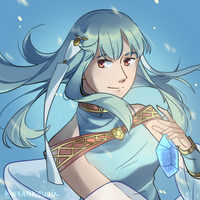 Day 6: Ninian by Nyankyuu