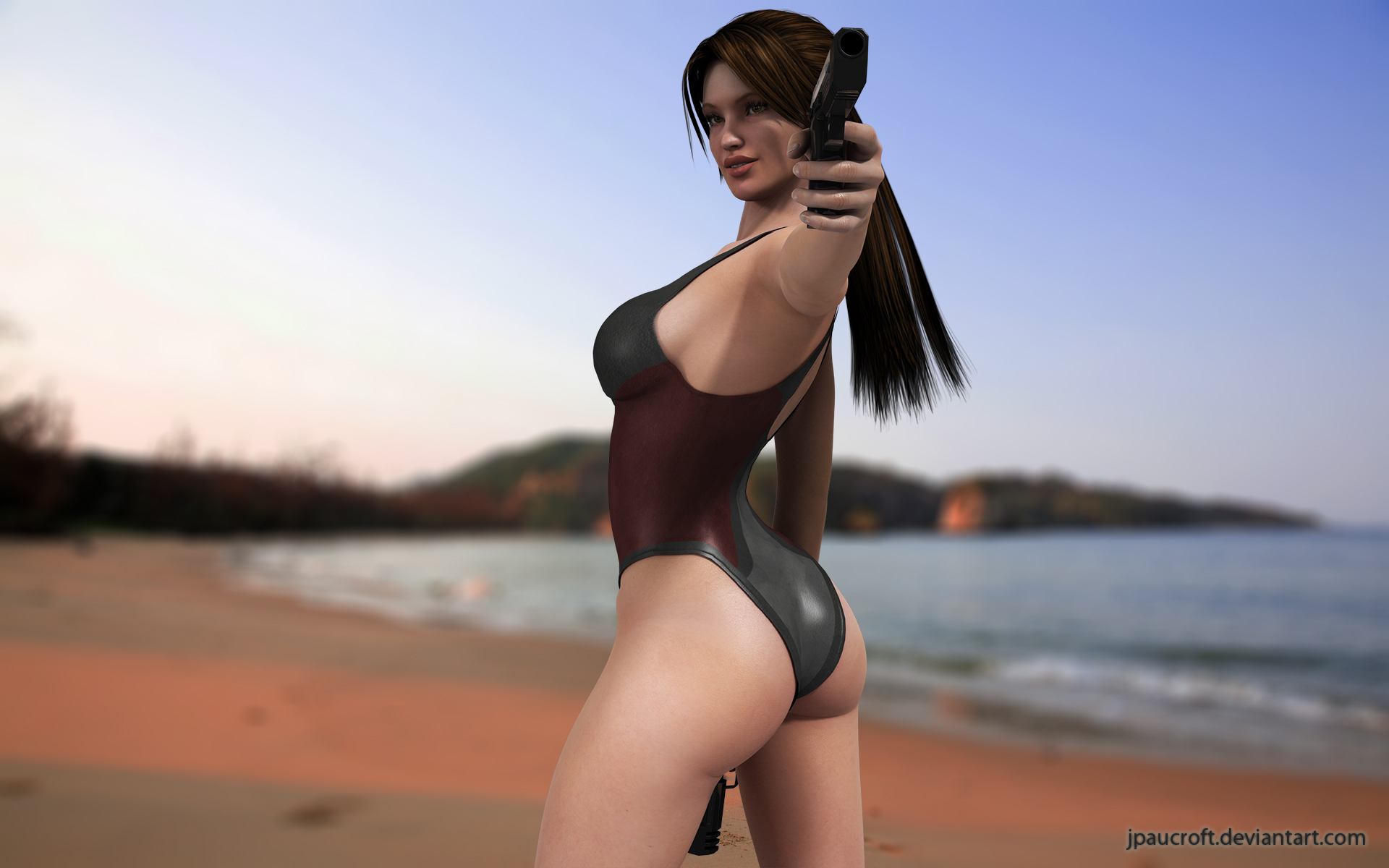 Lara V5 Swimsuit by JpauCroft
