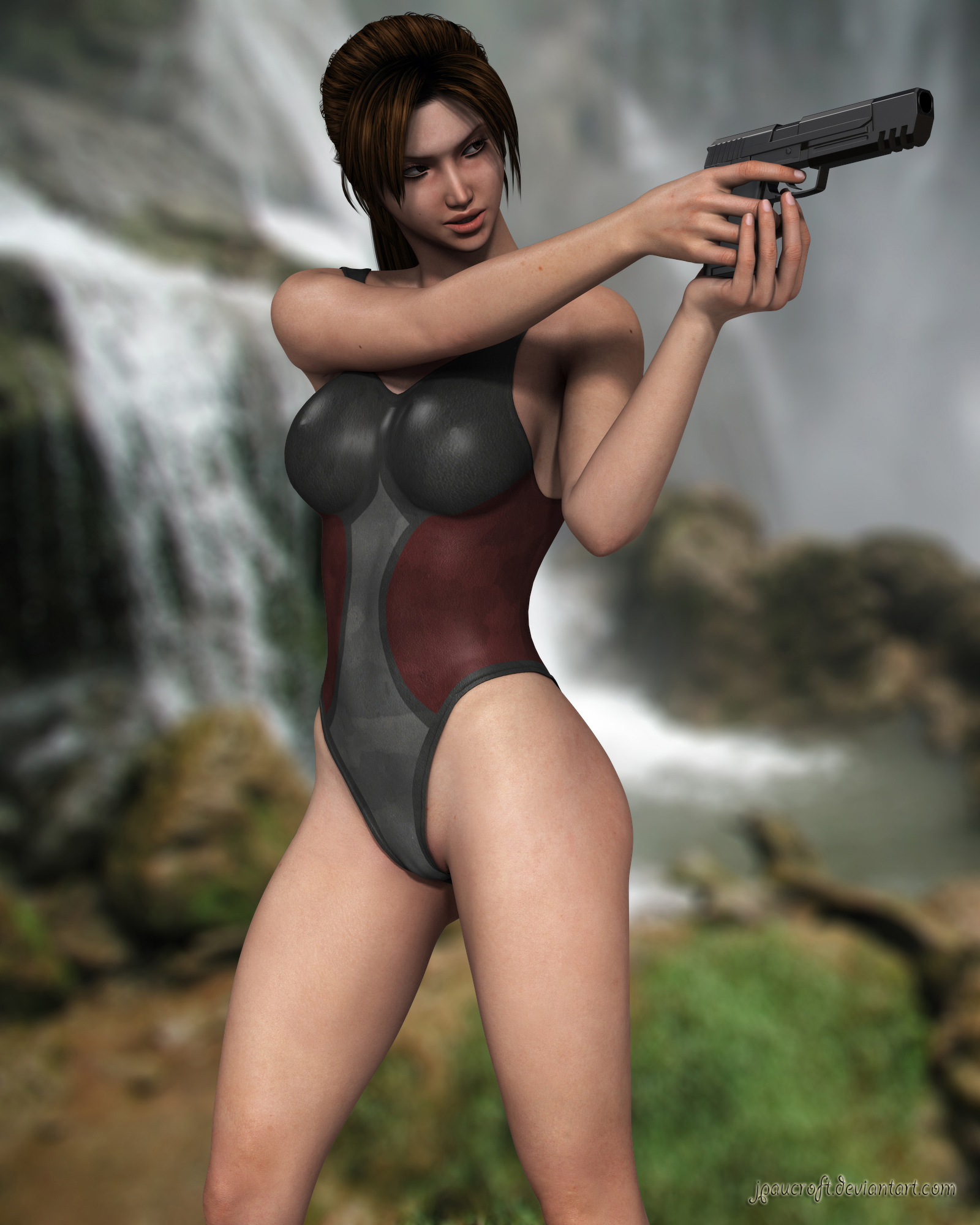 Lara V5 Swimsuit 2 by JpauCroft