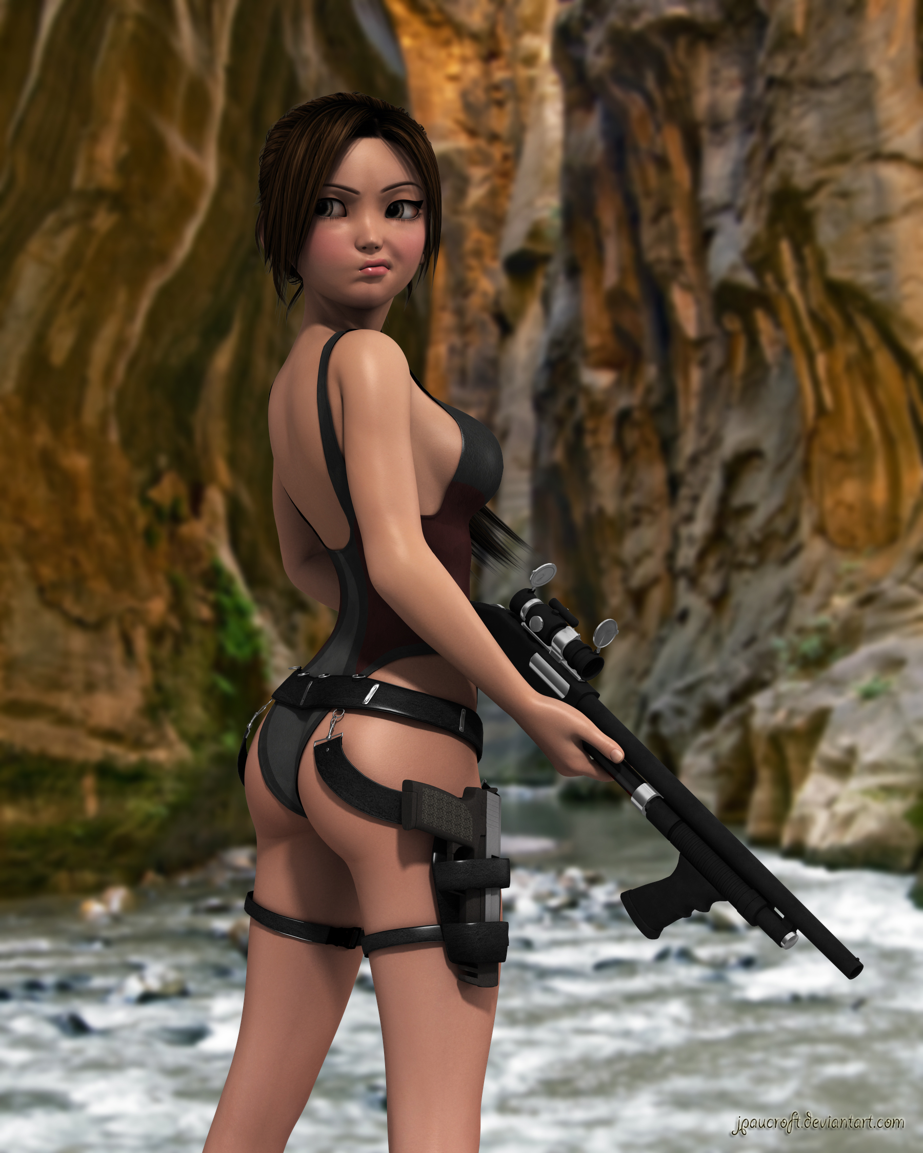 Sexy toon tomb rider porn images erotic galleries