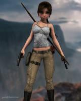 Lara Toon Survivor by JpauCroft