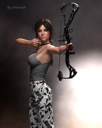 Lara V8 Ready for Action 3 by JpauCroft