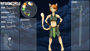Copperpaw of Thunderclan by Mewmewmyoo