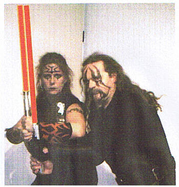Darth Cinis and Darth Stator