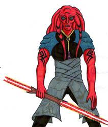 Sith Apprentice Jato by maikgodau666