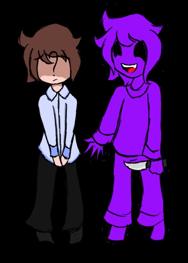 Jeremy x purple guy by larasweetheart on deviantart