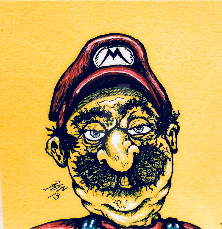 Super Mario - benji edition by BenjiNewmanArt
