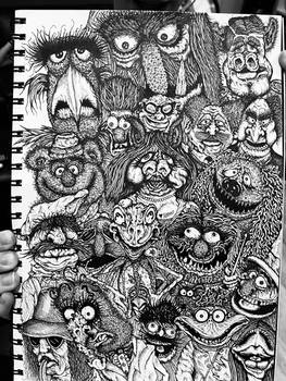 The Muppets - benji Newman style