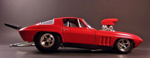 Pro Stock Corvette : Hot wheels chevrolet corvette pro stock by firehawk