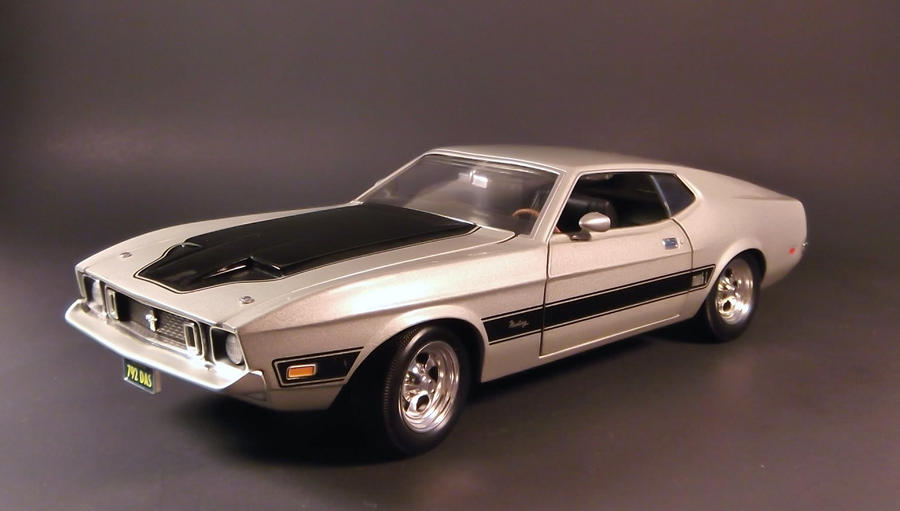 Ertl 1973 Ford Mustang Mach 1 by Firehawk732012 on DeviantArt