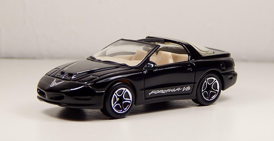 Matchbox 1996 Pontiac Firebird Formula In Black By