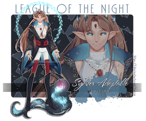 Night Sighter Adoptable ~AUCTION~ [CLOSED] by Fiorrie