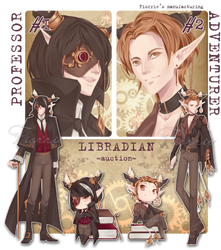SteamPunk Libradians ~AUCTION~ [CLOSED] by Fiorrie