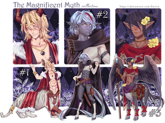 Myth Collection #1-3 ~AUCTION~ [2/3 OPEN] by Fiorrie