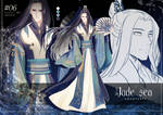 Jade sea adoptable ~AUCTION~ [CLOSED] by Fiorrie