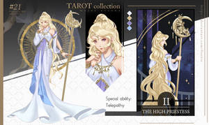 TAROT #2 High Priestess  ~AUCTION~ [CLOSED]