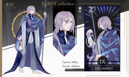 TAROT #9 The Hermit ~AUCTION~ [CLOSED]