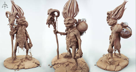 substrata clay renders by Ggalero