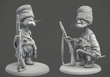 Clay render by Ggalero