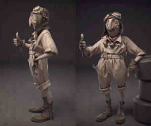 Dido the pilot by Ggalero