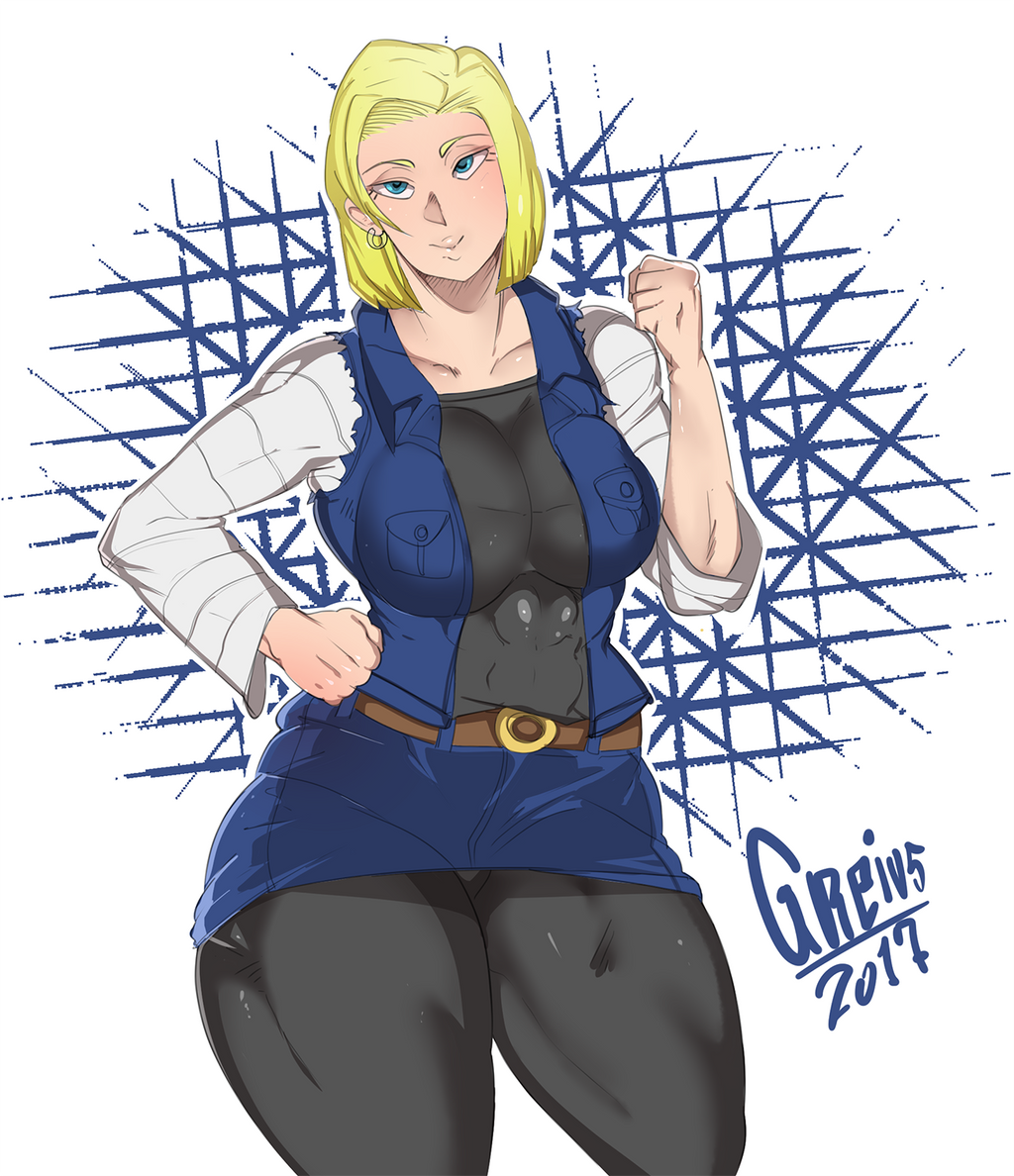 Android 18 And Tail Deviantart: Android 18. (DRAGON BALL FANART) By Greivs-GM On DeviantArt