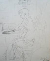 Tim Studying Gestures