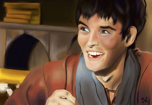Merlin aka Colin Morgan