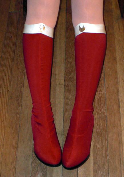 Sailor Moon Boots by Cepiapon