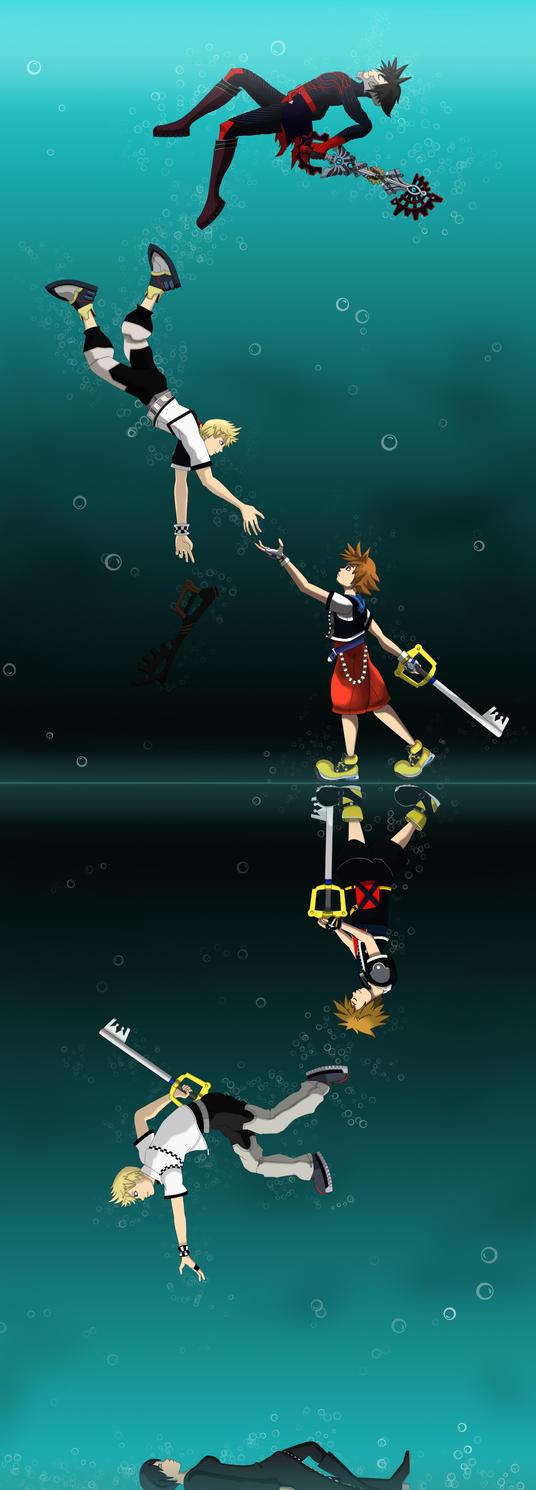 Deep dive by xmellulahx on deviantart - Kingdom hearts deep dive ...