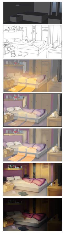 Bedroom Progression